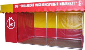 Реклама на тентах в Витебске
