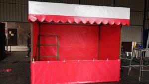 Торговая палатка из ткани пвх
